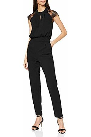 Mela Women's Delicate Lace Shoulder Key Hole Detail J Jumpsuit