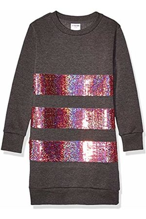 Spotted Zebra Girl's French Terry Long-sleeve Dresses Patterned French Terry Long-sleeve Dresses Casual Dress