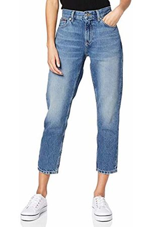 Tommy Hilfiger Women's IZZY HIGH Rise Slim Ankle SNDM Straight Jeans