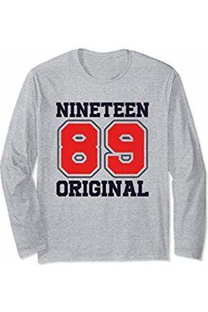 Vintage 1989 31st Birthday Gifts Vintage 1989 Cool Retro Style 31st Birthday Gift Men Women Long Sleeve T-Shirt