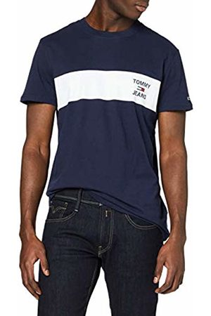 Tommy Hilfiger Men's TJM Chest Stripe Logo TEE Sport Shirt