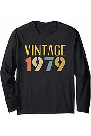 41st Birthday 1979 Vintage Gifts Vintage 1979 Cool Funny Retro Style 41st Birthday Men Women Long Sleeve T-Shirt
