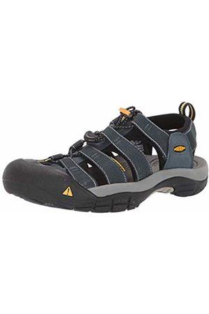 Keen Men's Newport H2 Sandal, Navy/Medium Gray