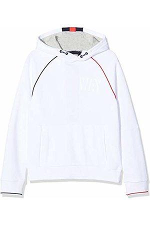 IKKS Girl's Sweat Capuche Rouge/Bleu Sweatshirt