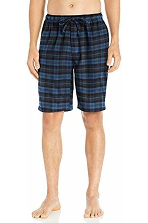 Goodthreads Flannel Pajama Short Denim Navy Tartan