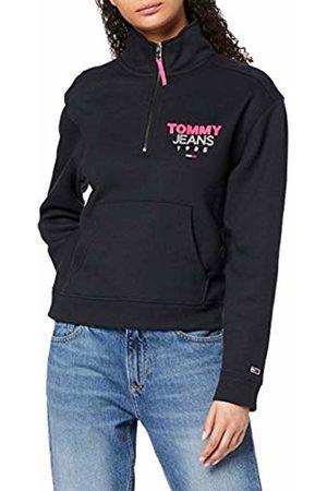 Tommy Hilfiger Women's TJW Logo Quarter Zip Cardigan