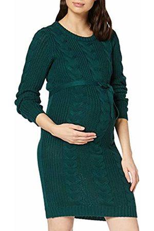 MAMALICIOUS Damen Mlcamelia S//L Denim Abk Dress A Kleid