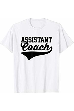 Super Coaches Funny Gift Assistant Coach Sports Humor Saying Vintage Swoosh T-Shirt