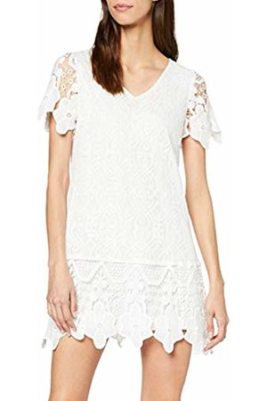 Mela Women's V Neck Border Lace Dress Cocktail