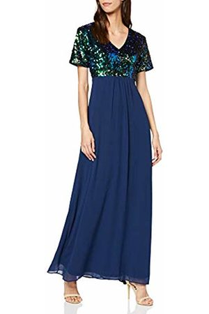 Mela Women's Sequin Top Maxi Dress Cocktail