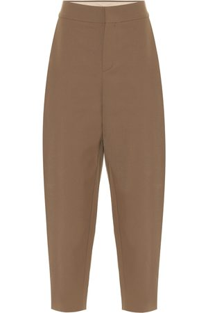 Chloé Twill tapered pants