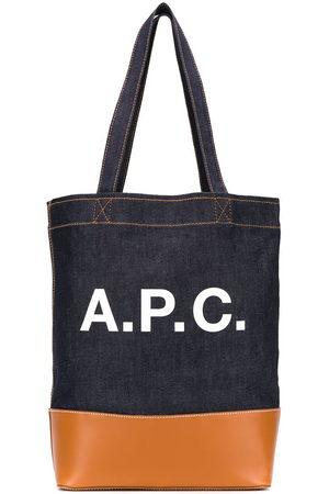A.P.C Axelle logo tote bag