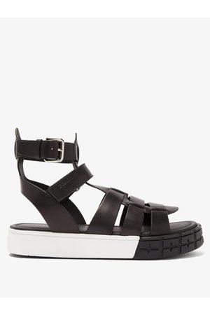 Prada Men Sandals - Tyre-sole Leather Sandals - Mens