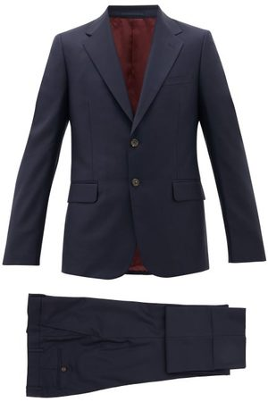 Gucci London Single-breasted Wool-blend Suit - Mens