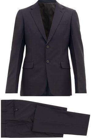 Prada Single-breasted Wool-blend Crepe Suit - Mens