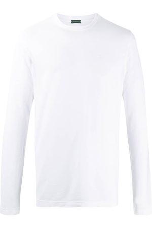 ZANONE Long-sleeved cotton T-shirt