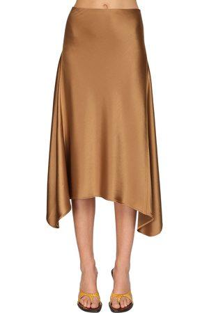 Sies marjan Asymmetric Knee Length Skirt