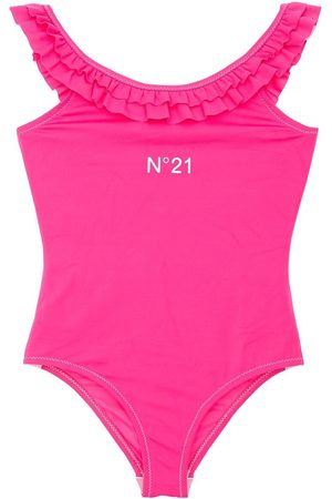 Nº21 Girls Swimsuits - Ruffled One Piece Swimsuit