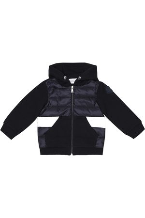 Moncler Baby cotton and down-filled jacket