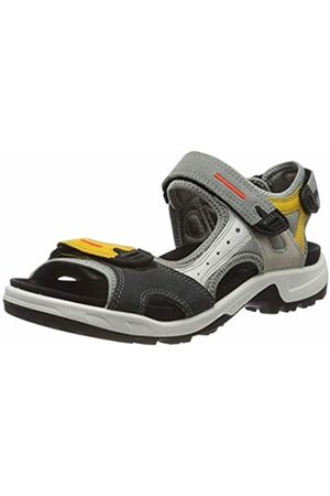 Ecco Men's Offroad Ankle Strap Sandals, (Multicolor MERIGOLD 51766)
