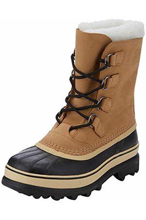 sorel Men Snow Boots - Men's Caribou Winter Boots, (Buff)