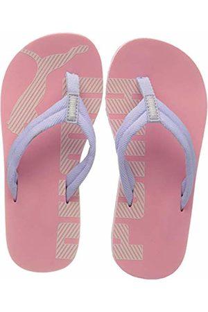 Puma Unisex Kid's Epic FLIP V2 PS Beach & Pool Shoes, (Peony- Heather 25)