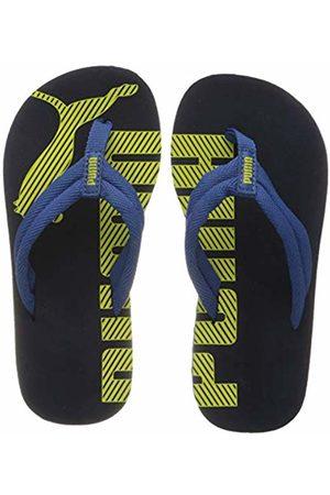Puma Unisex Kid's Epic FLIP V2 PS Beach & Pool Shoes, (Peacoat-Bright Cobalt 22)