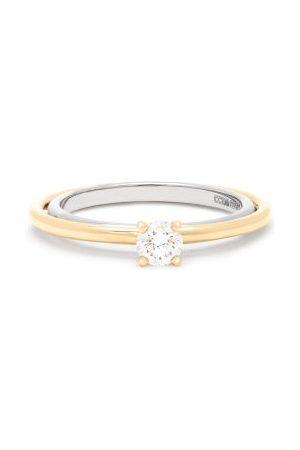 CHARLOTTE CHESNAIS Elipse Solitaire Diamond & 18kt Ring - Womens