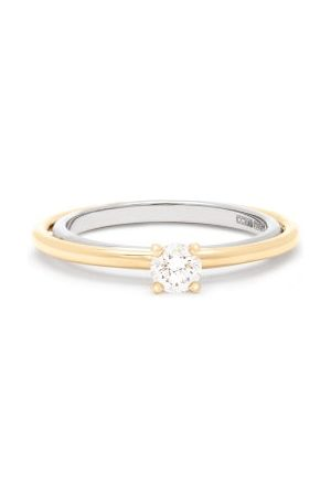 CHARLOTTE CHESNAIS Women Rings - Elipse Solitaire Diamond & 18kt Ring - Womens