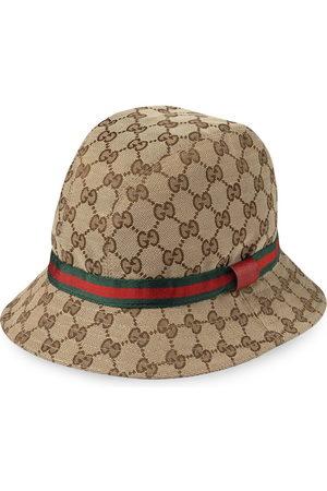 Gucci GG logo fedora hat - Neutrals