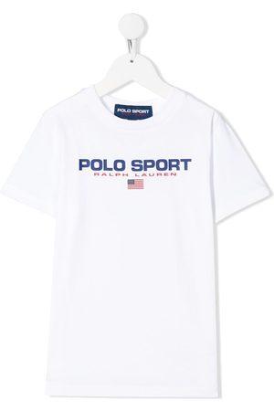 Ralph Lauren Boys Polo Shirts - Polo sport logo T-shirt