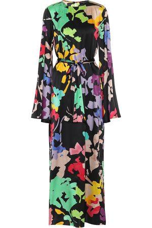 Caroline Constas Lilliana floral stretch-silk dress