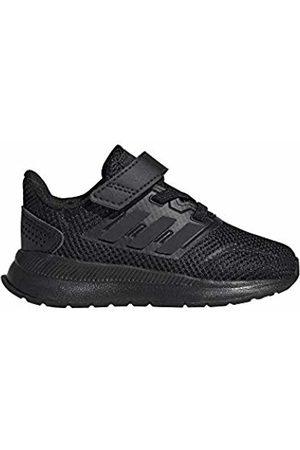 adidas Unisex Babies' Runfalcon I Slippers, (Negbás/Negbás/Negbás 000)