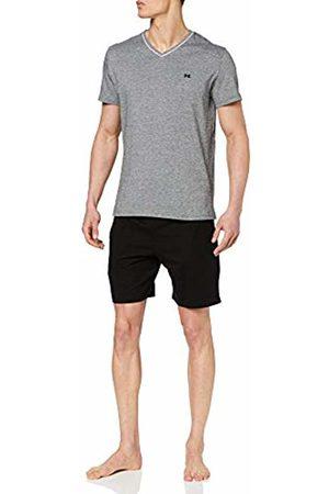 Hom Men Pyjamas - Men's Onyx Short Sleepwear Pajama Set