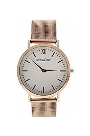 Andreas Osten Unisex-Adult Analogue Classic Quartz Watch with Leather Strap AO-135