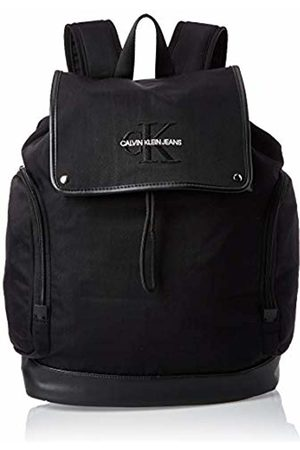 Calvin Klein Monogram Nylon Flap Backpack 45, Men's Bag Organiser