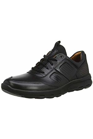 Rockport Lets Walk Mens Ubal Trainers, ( Leather 001)