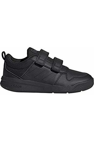 adidas Unisex Kids' Tensaur C Competition Running Shoes, (Negbás/Negbás/Grisei 000)
