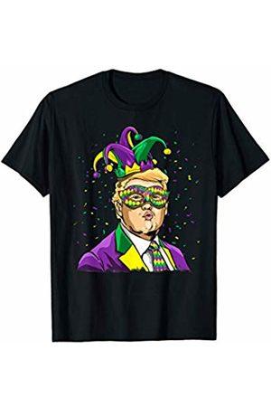 Wowsome! Donald Trump Mardi Gras 2020 Funny Mardi Gras Trump Jester T-Shirt