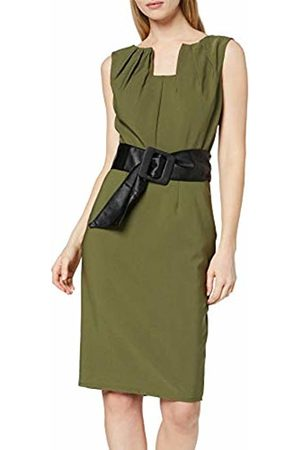 Paper Dolls Women's Belted Pencil Dress