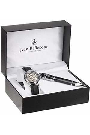 Jean Bellecour Unisex-Adult Analogue Classic Quartz Watch with Stainless Steel Strap REDH2-CS