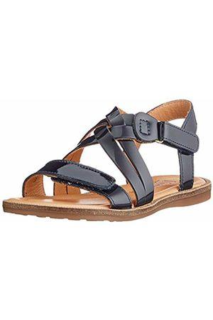 Bisgaard Girls' Barbara Open Toe Sandals, (deep 1407)