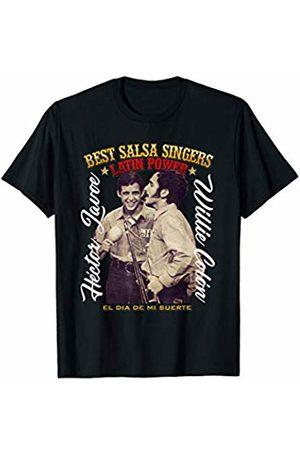 Salsa Best Singers Hector Lavoe Willlie Colon T-Shirt