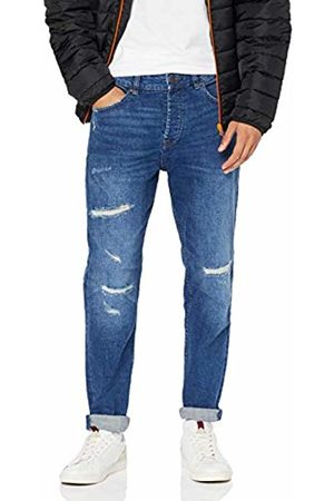 Only & Sons Men's Onsavi Washed Dcc 3679 Tapered Fit Jeans