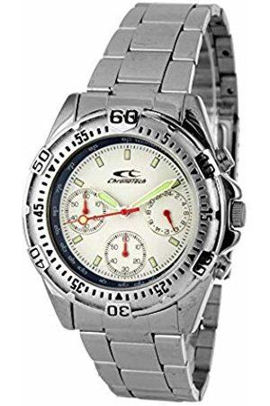 ChronoTech CT8965-06M Analogue Watch Unisex Quartz Movement Dial Size 38 mm