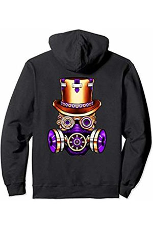 Vintage Classic Retro 80s Throwback Steampunk Art Original Teen Gear Gasmask Air Pollution Save The Planet Pullover Hoodie