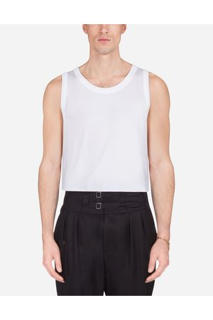 Dolce & Gabbana T-Shirts and Polo - COTTON JERSEY VEST