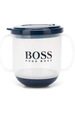 Boss Kids Logo print sippy cup