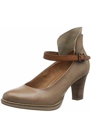 Tamaris Women's 1-1-24411-24 Leder Loafers, (Taupe Comb 426)