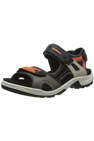 Ecco Men's Offroad Ankle Strap Sandals, (MUTLICOLOR FIRE 51768)
